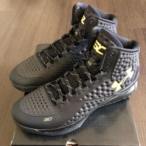 Under Armour Shoes   Ua Curry Black
